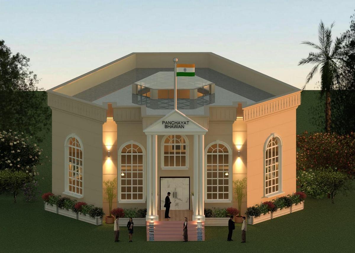 Madhya Pradesh: A Gram Sabha in Hoshangabad district wants Central Vista inspired bhawan, panchayat officials say no