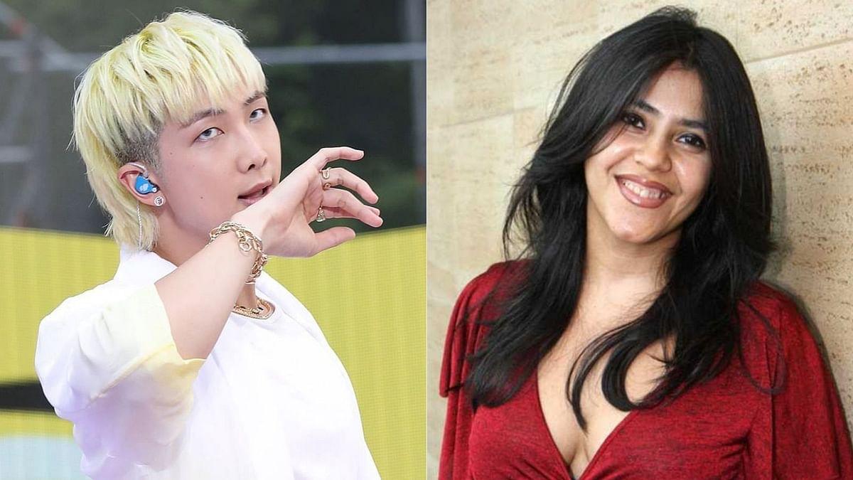 Ekta Kapoor thanks BTS' RM for proving music has no boundaries after he reacts to 'Ek Villain' song