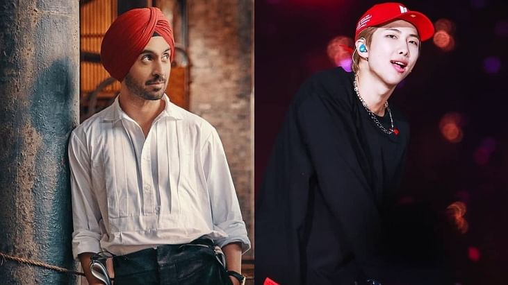 Title of Diljit Dosanjh's upcoming album inspired by BTS' RM? Fans seem to think so