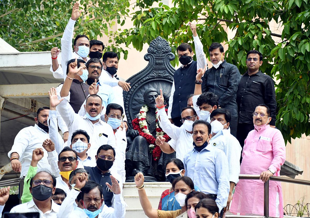 Mumbai: Maharashtra Speaker claims suspended BJP MLAs abused, tried to attack him