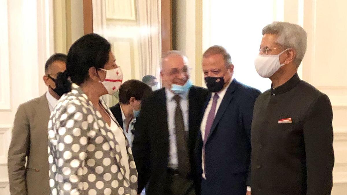 EAM S Jaishankar, Georgian President discuss progress of bilateral cooperation, connectivity, Afghanistan