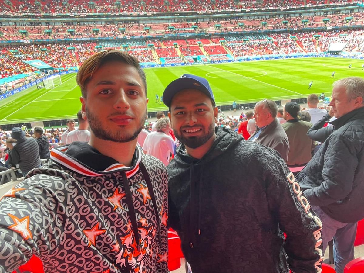 Two Indian cricketers test positive in UK; Rishabh Pant, Jasprit Bumrah, and Hanuma Vihari were spotted at Wembley Stadium enjoying EURO 2020 action a few days back