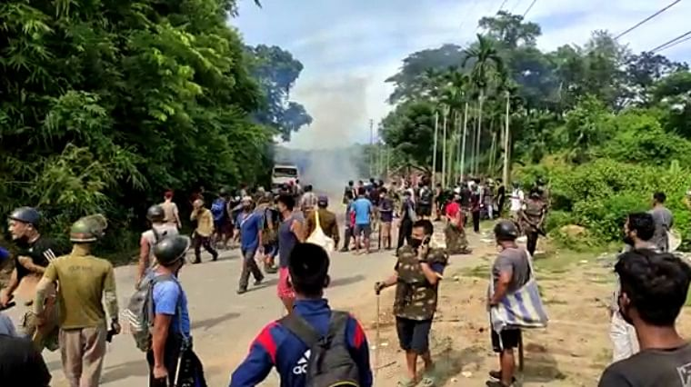 6 Assam cops killed as clashes on border with Mizoram erupt