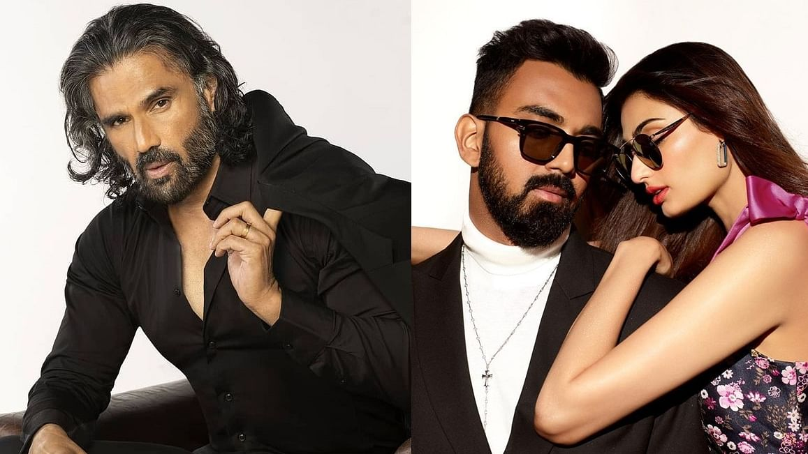 Suniel Shetty says daughter Athiya and her rumoured beau KL Rahul are a 'good-looking couple'