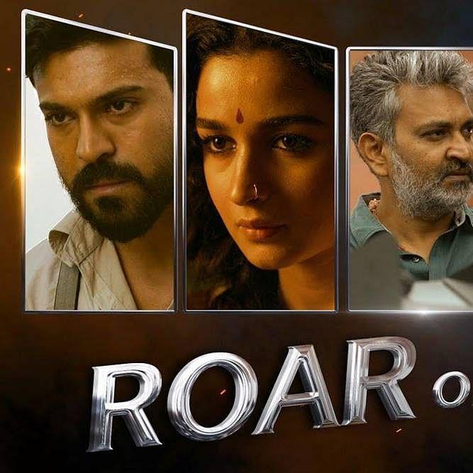 Roar of 'RRR': SS Rajamouli treats fans with BTS video of film starring Ram Charan, Jr NTR and Alia Bhatt