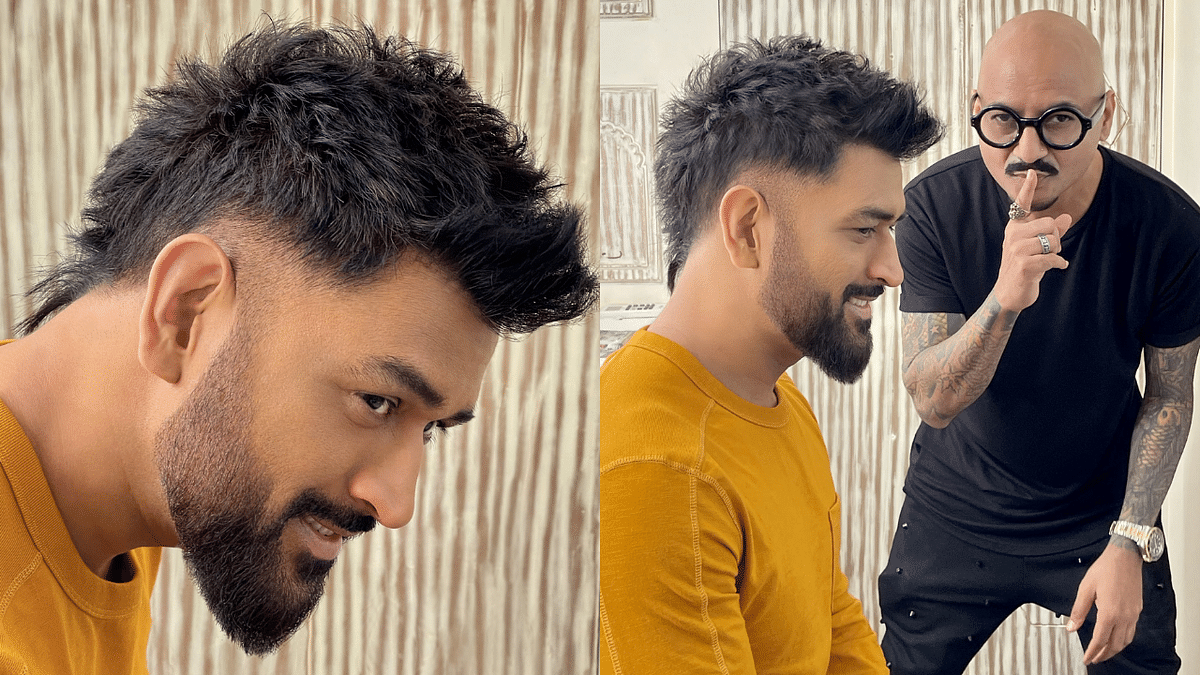 Fans divided over Dhoni's new hairstyle; generate meme-fest on Twitter