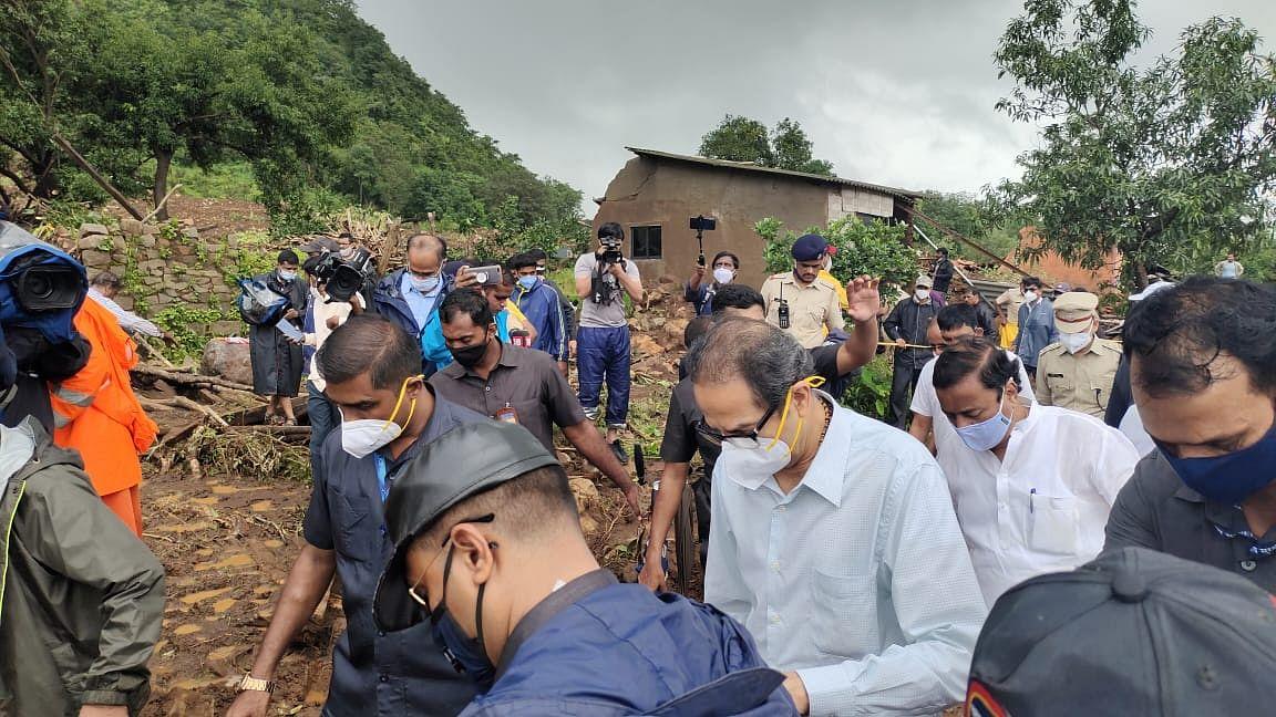 Maharashtra CM visits Taliye village