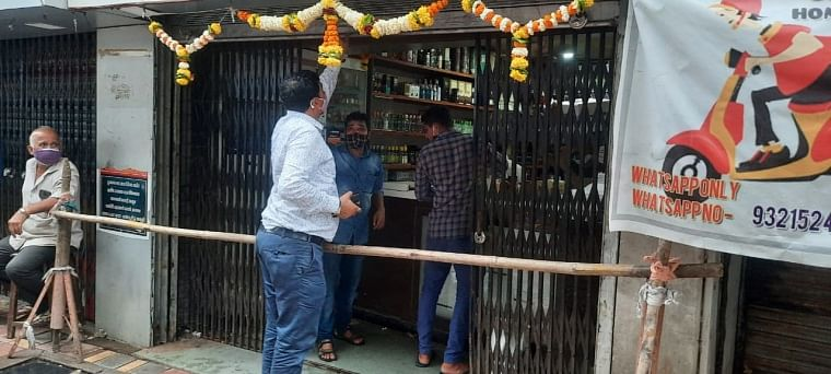 Kalyan-Dombivali: KDMC takes action against shops for violating COVID-19 norms, collects Rs 40,000 as fine