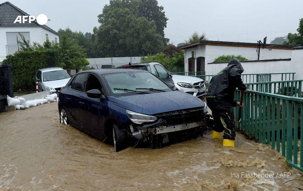 Watch Video: Incessant rain wreak havoc in Germany; 19 dead, dozens missing