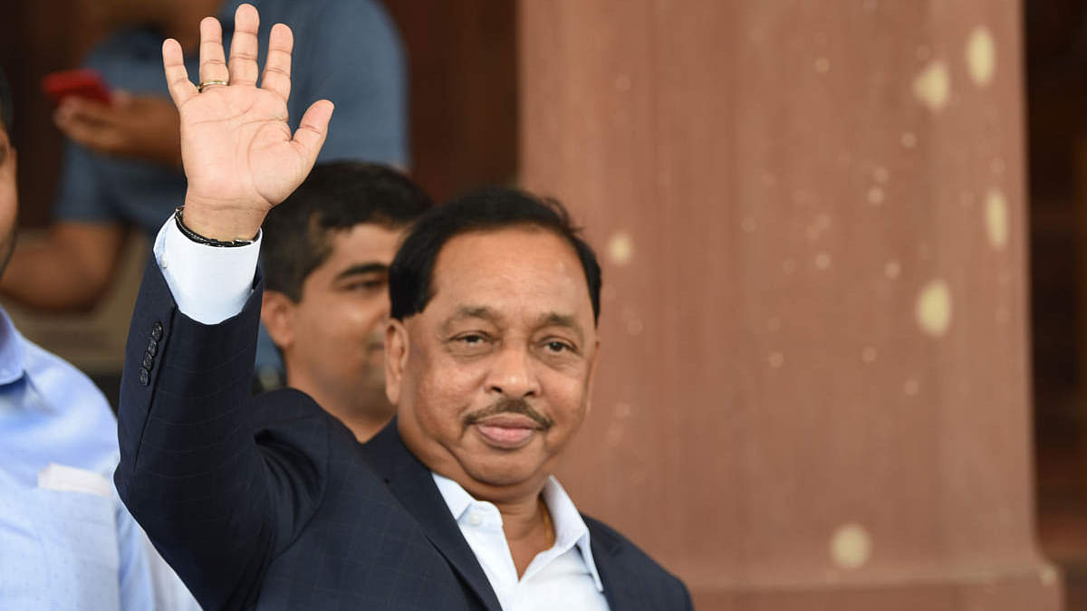 From Shiv Sena 'shakha pramukh' in Maharashtra to Union Minister: A look at Narayan Rane's journey