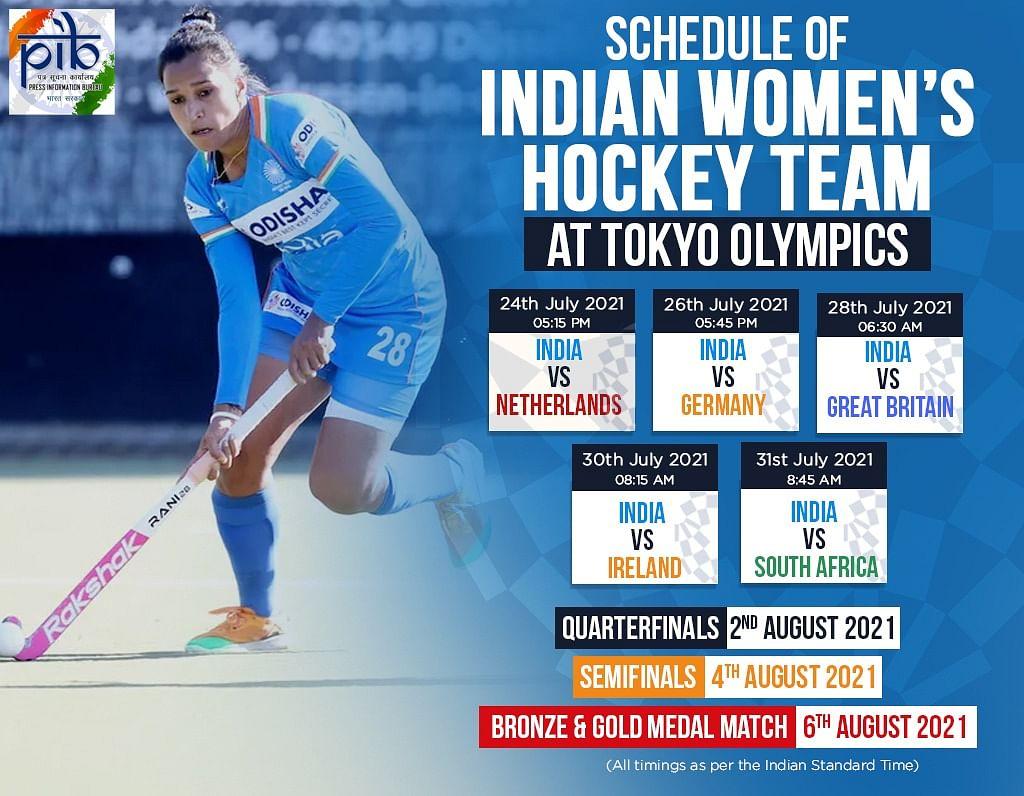 India women's team fixtures