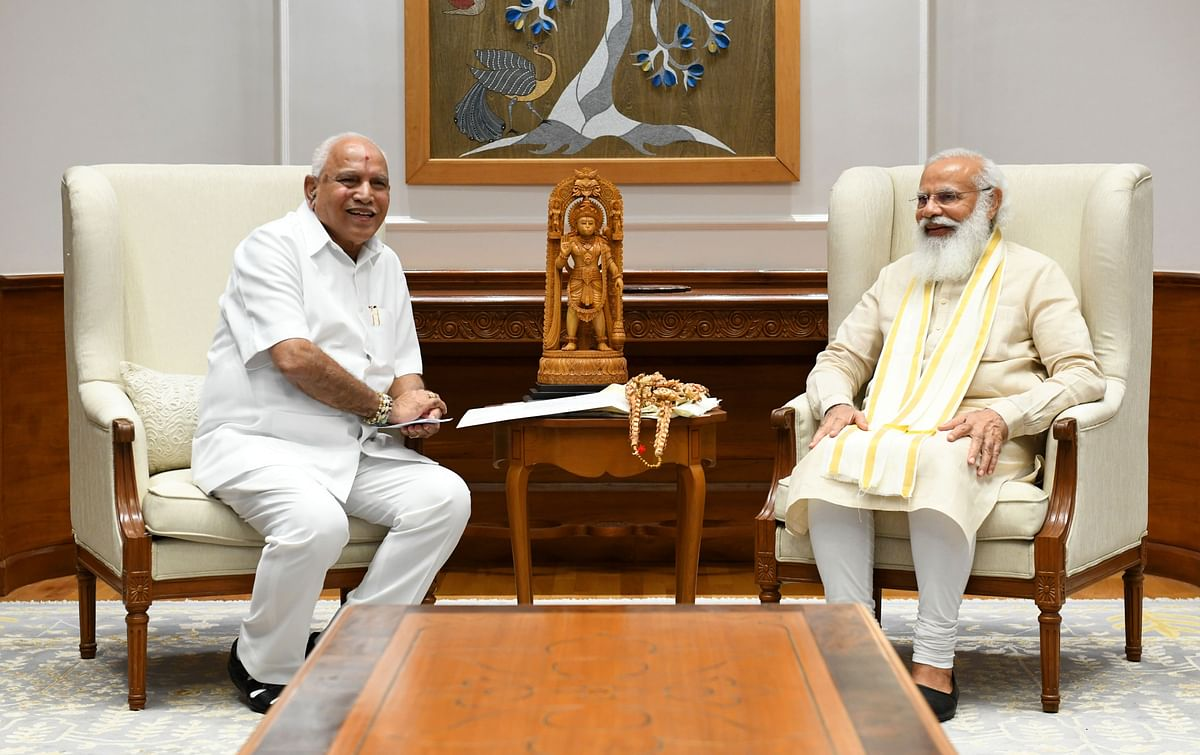 'Don't know anything about leadership change in Karnataka': CM BS Yediyurappa after meeting with PM Modi