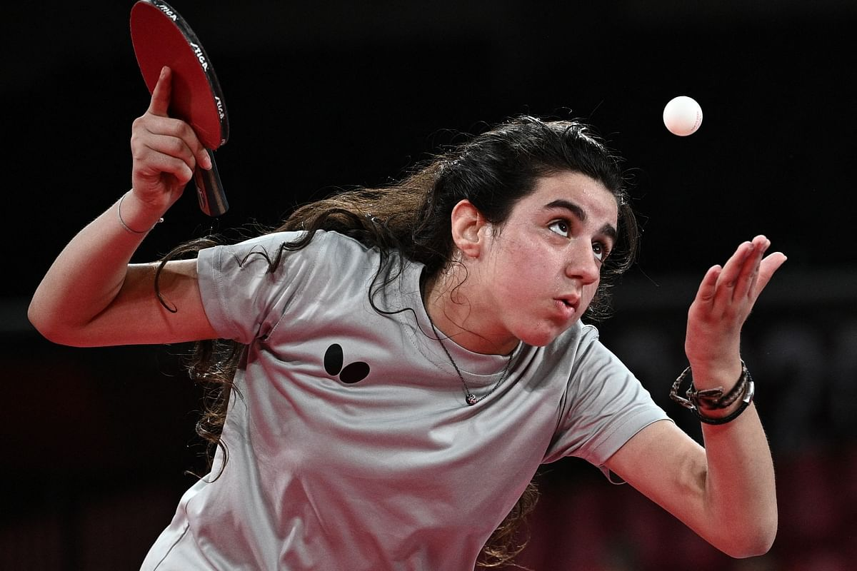 Tabe Tennis at Tokyo Olympics: 12-year-old Hend Zaza from Syria bows out with head held high
