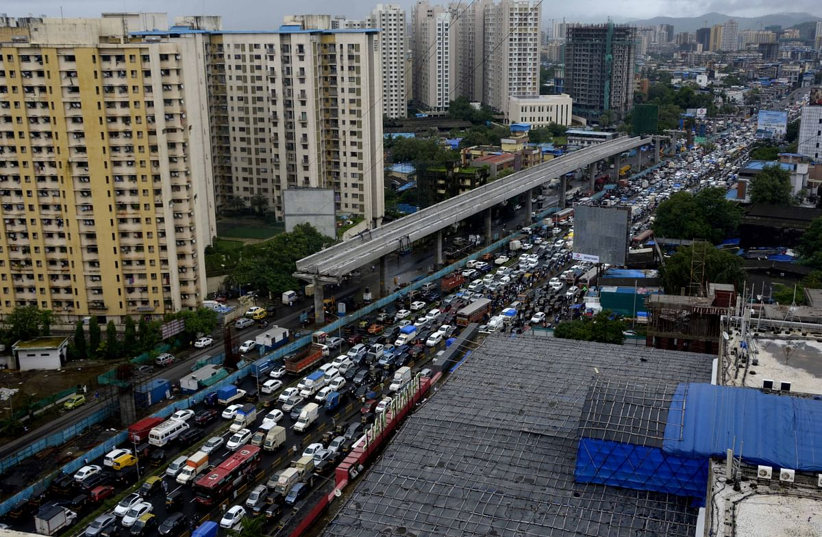Mumbai: Traffic hit after rains lash city for second consecutive day