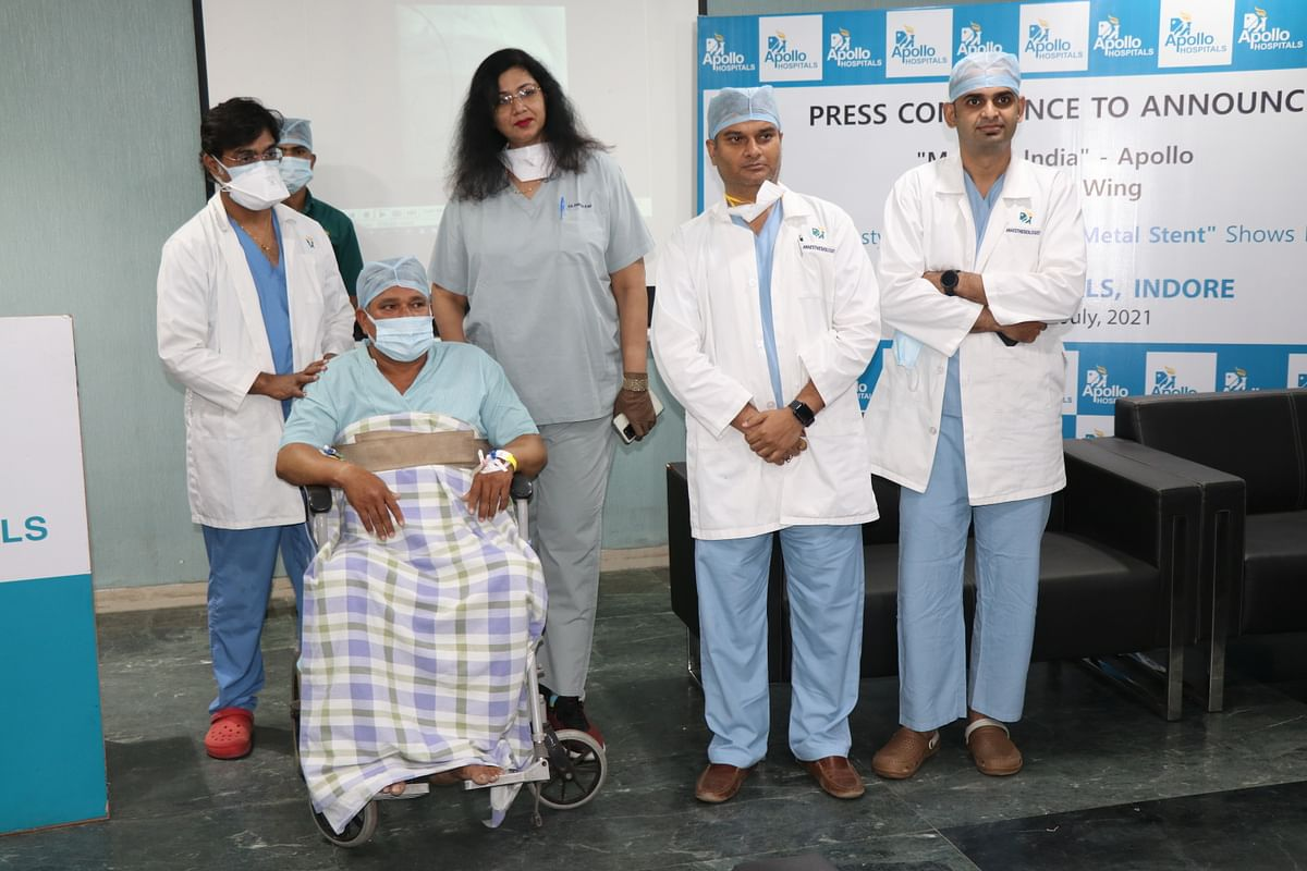 Indore: Now heart patient can go for a stent that disappears