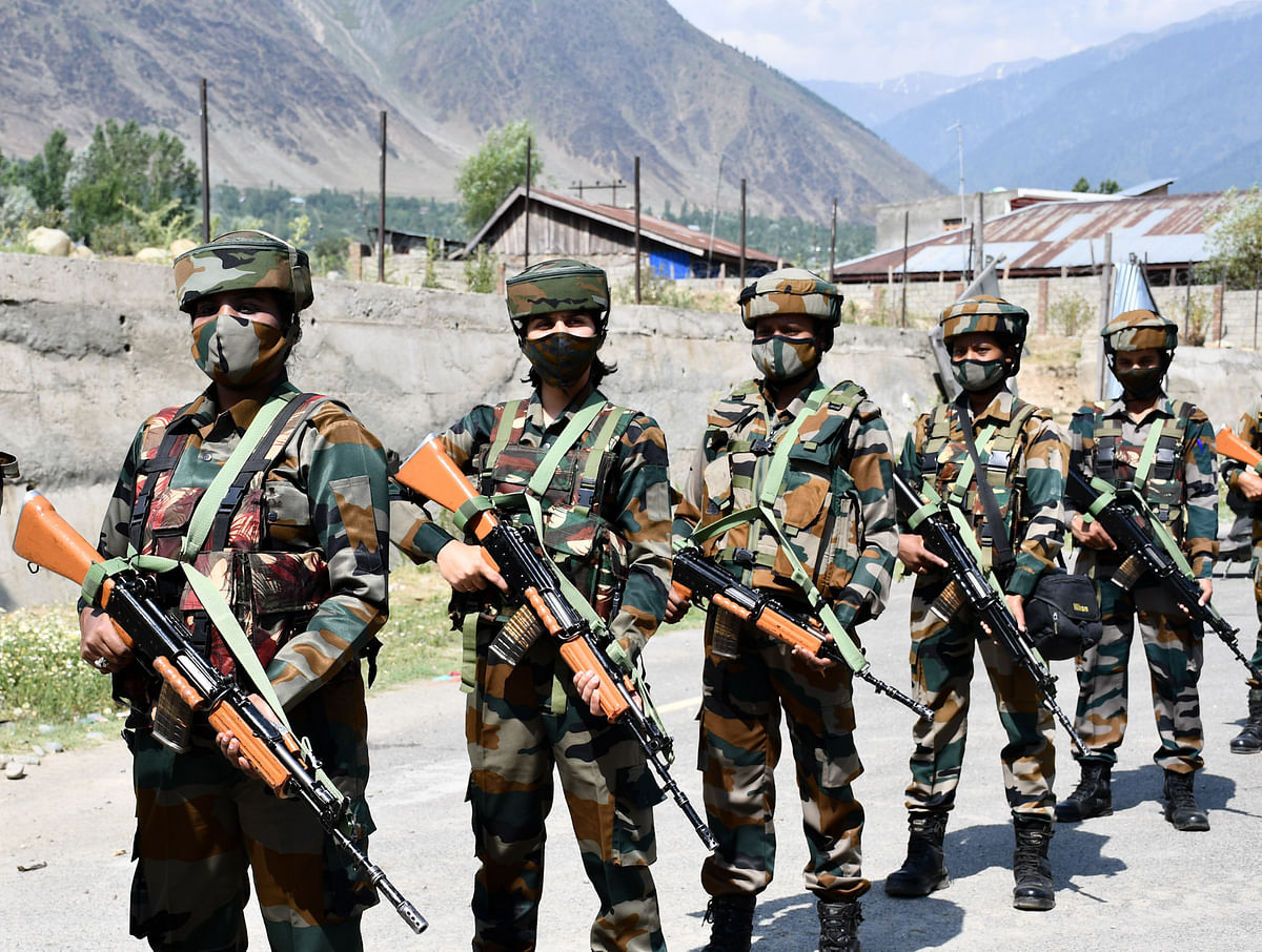 The soldiers have been able to develop a special relationship between the locals and the security forces