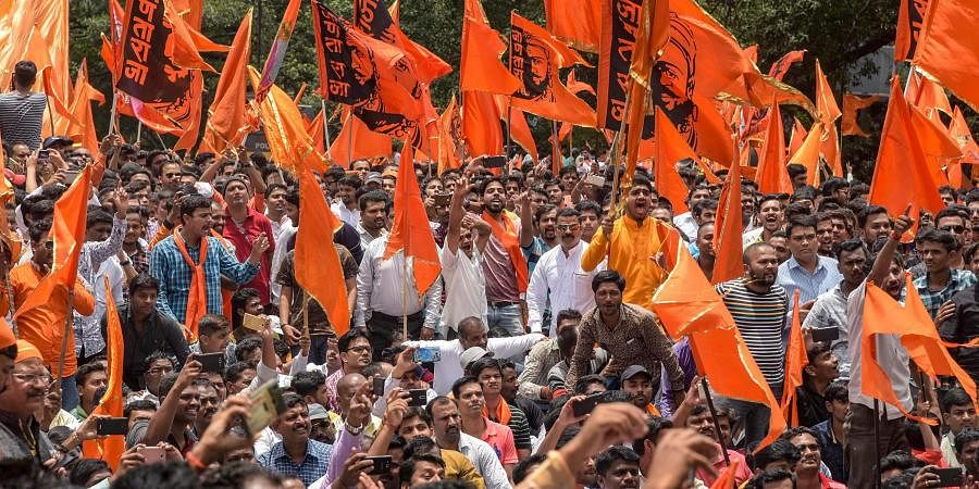 Quota demand: Members of Maratha outfits gather in Maharashtra's Solapur for protest, without police nod