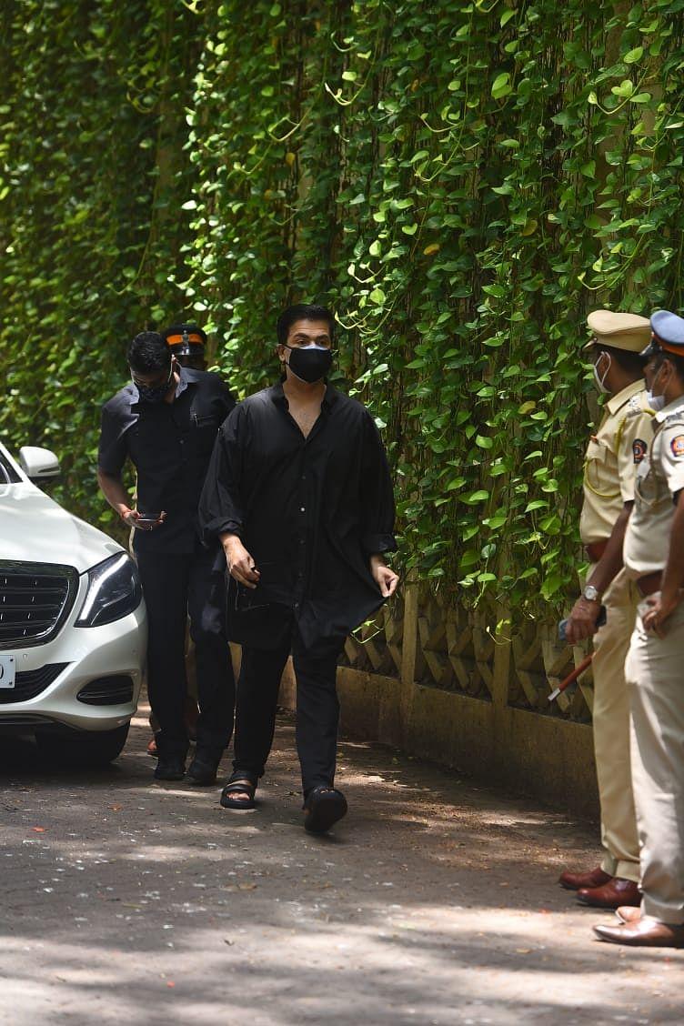 Karan Johar visits Dilip Kumar's home to pay his last repects