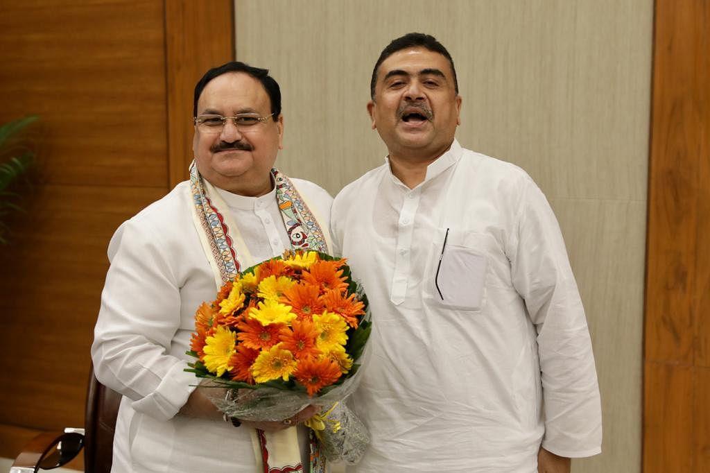 West Bengal LoP Suvendu Adhikari once again visits Delhi, meets BJP chief JP Nadda and Home Minister Amit Shah