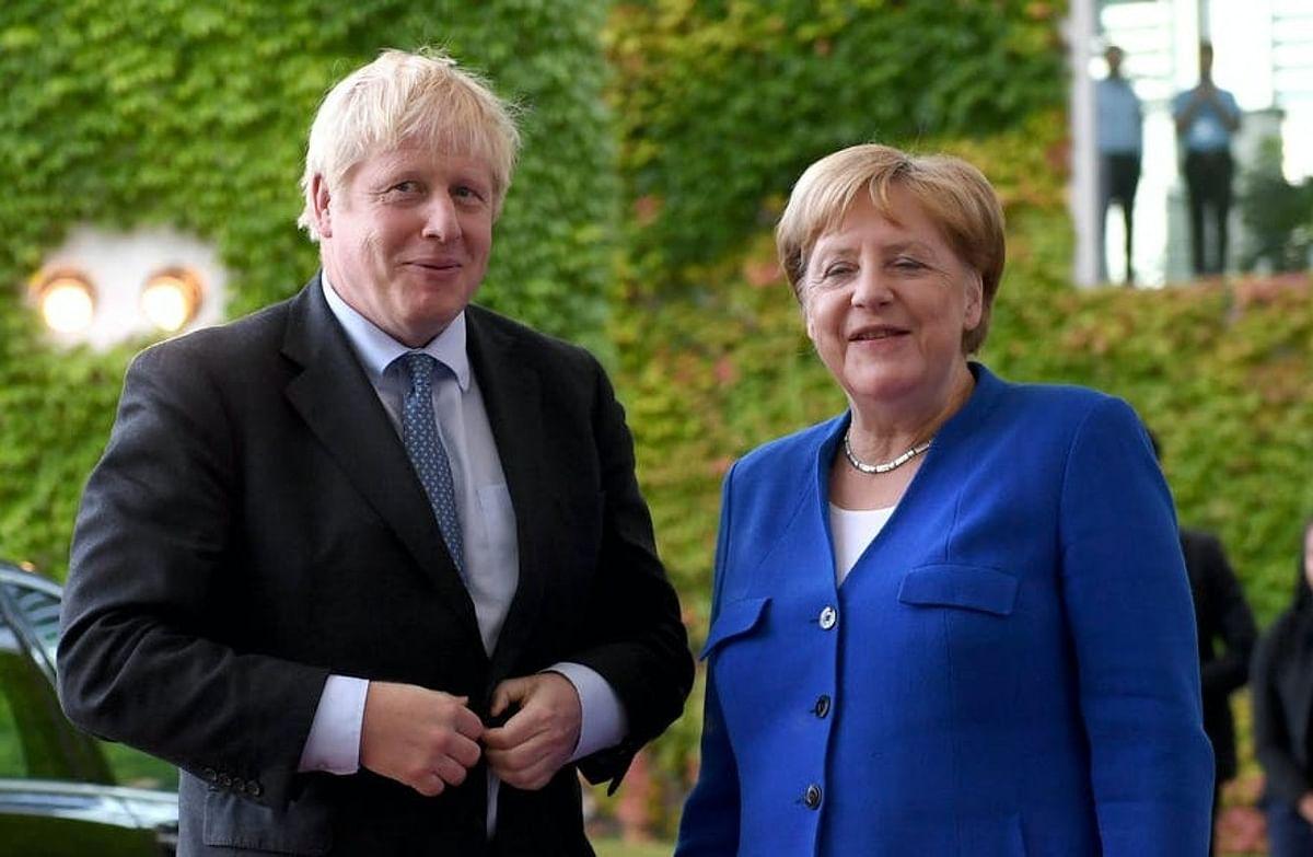 German Chancellor Angela Merkel signals easing travel rules for UK visitors