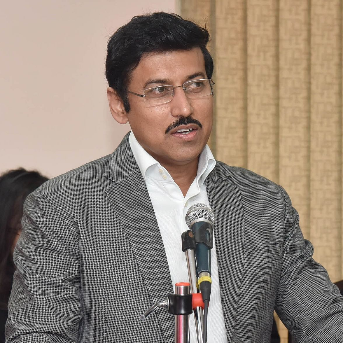 Rahul Gandhi should submit phone for investigation if he thinks it is tapped: BJP's Rajyavardhan Rathore on spying charges