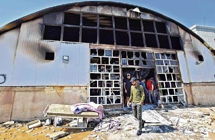 64 dead in Iraq Covid ward fire