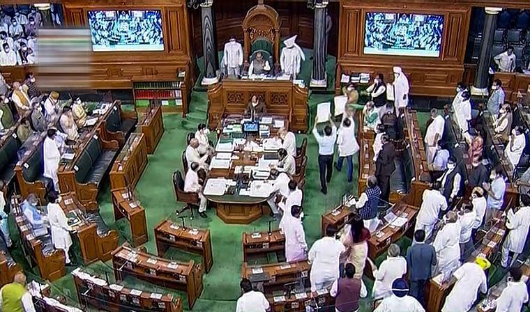 Parliament Monsoon Session Live Updates: Lok Sabha adjourned till 12.30 pm