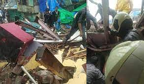 Mumbai: Houses inundated, walls collapse amid heavy rains in Thane, Palghar