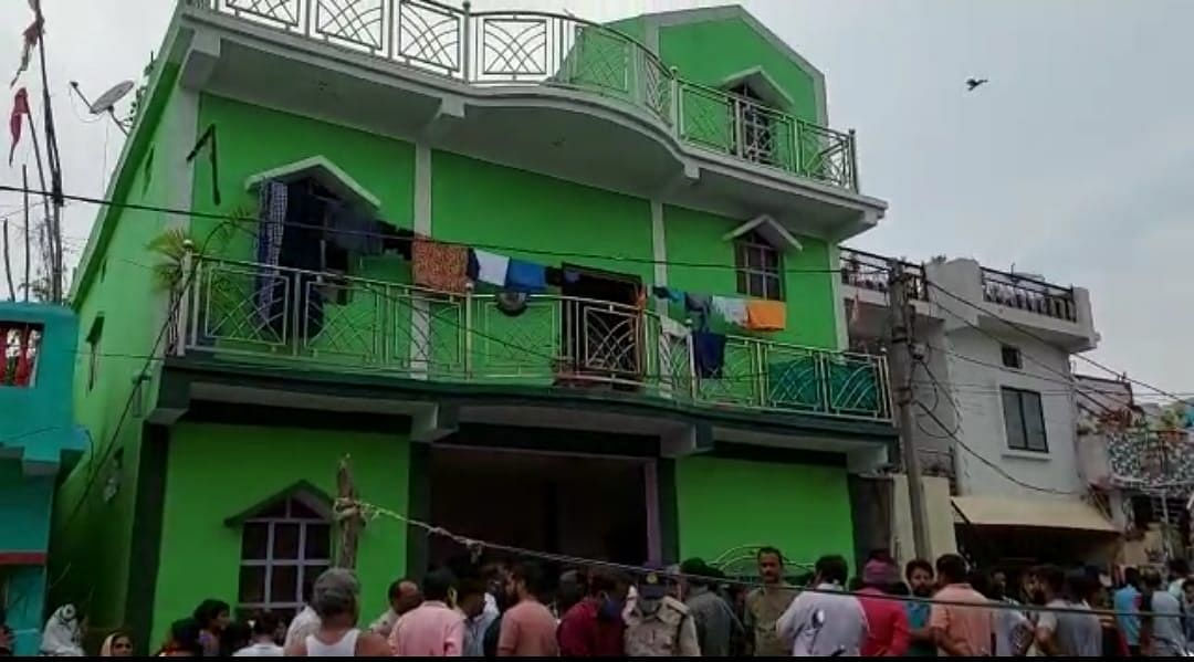 The accused youth identified as Bhanu Thakur barged into the house, killed three before shooting himself dead.
