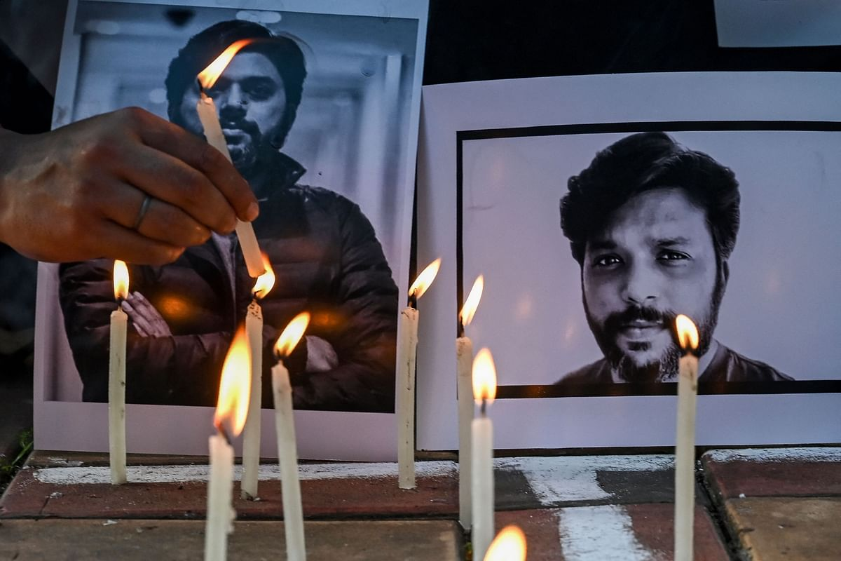 In Pics: Tribute to journalist Danish Siddiqui who was killed covering fighting between Afghan security forces and Taliban