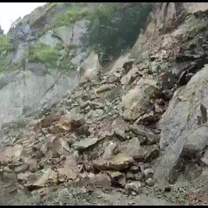 Uttarakhand: Gangotri National Highway closed after landslide, heavy rainfall