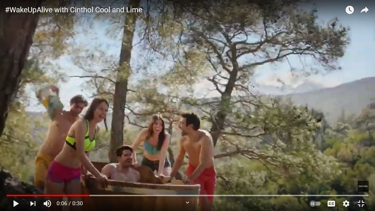 Cinthol says 'Wake up Alive' and start every morning fresh in its new TVC campaign