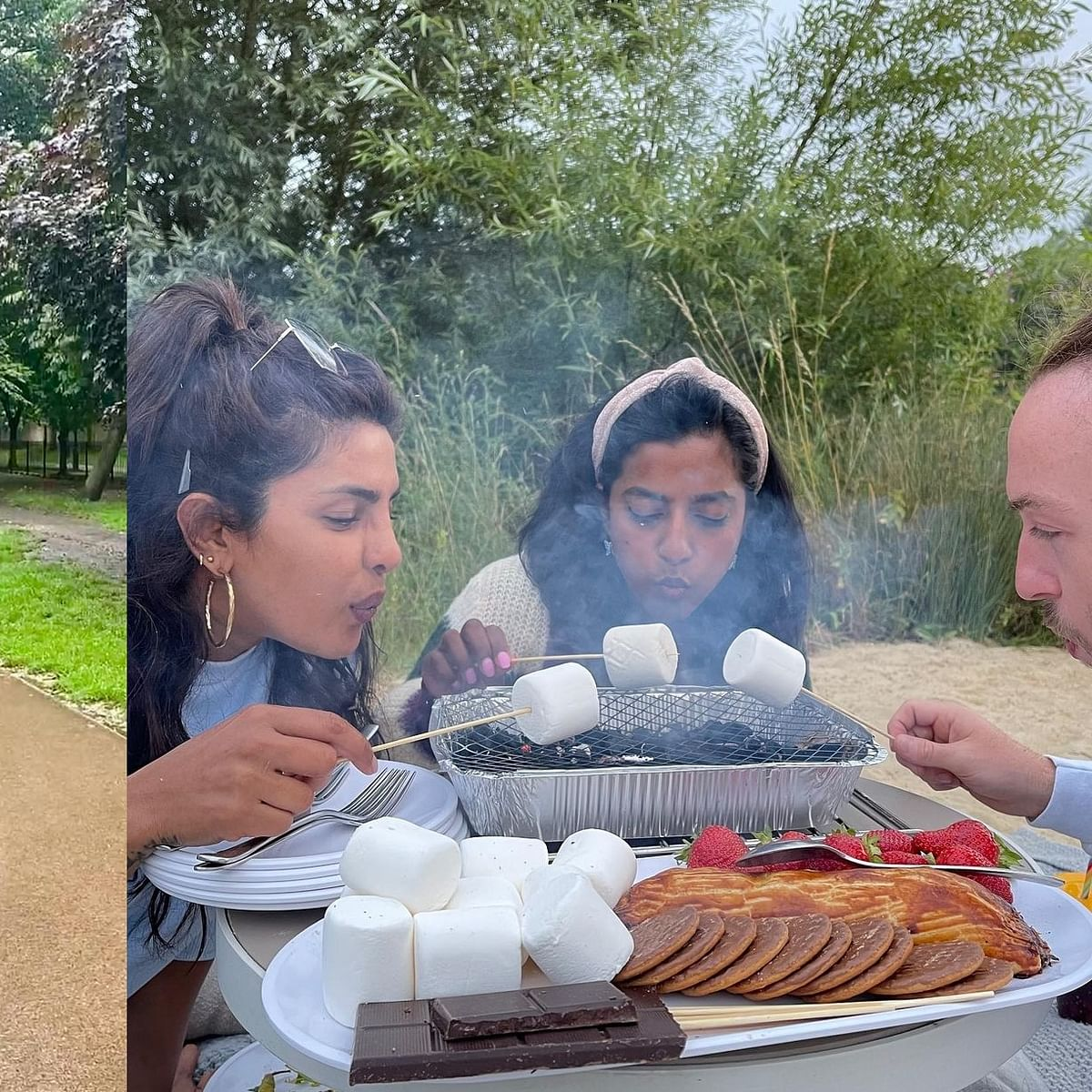 Monsoon and Marshmallows: Priyanka Chopra gives a glimpse of how she spent her days in London - see pics