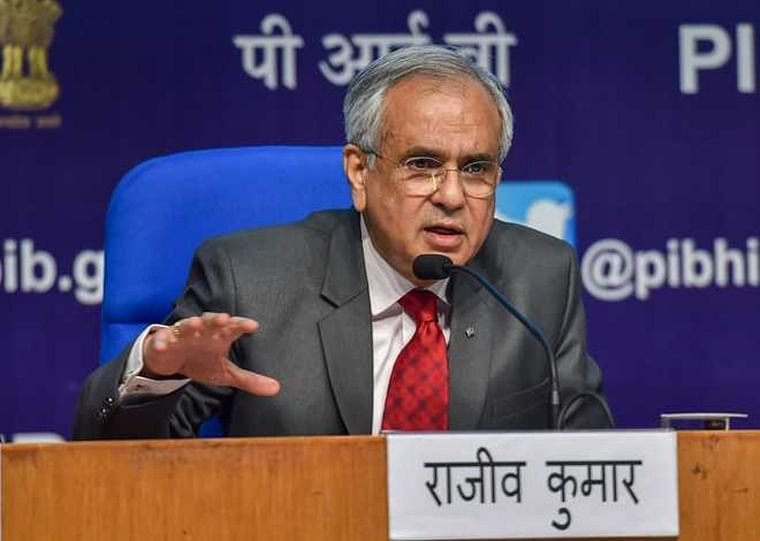 India poised for double-digit growth this fiscal; disinvestment climate looks better: Niti Aayog VC Rajiv Kumar