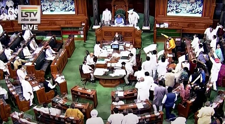 Parliament Monsoon Session Live Updates: Lok Sabha adjourns for the day amid Opposition uproar