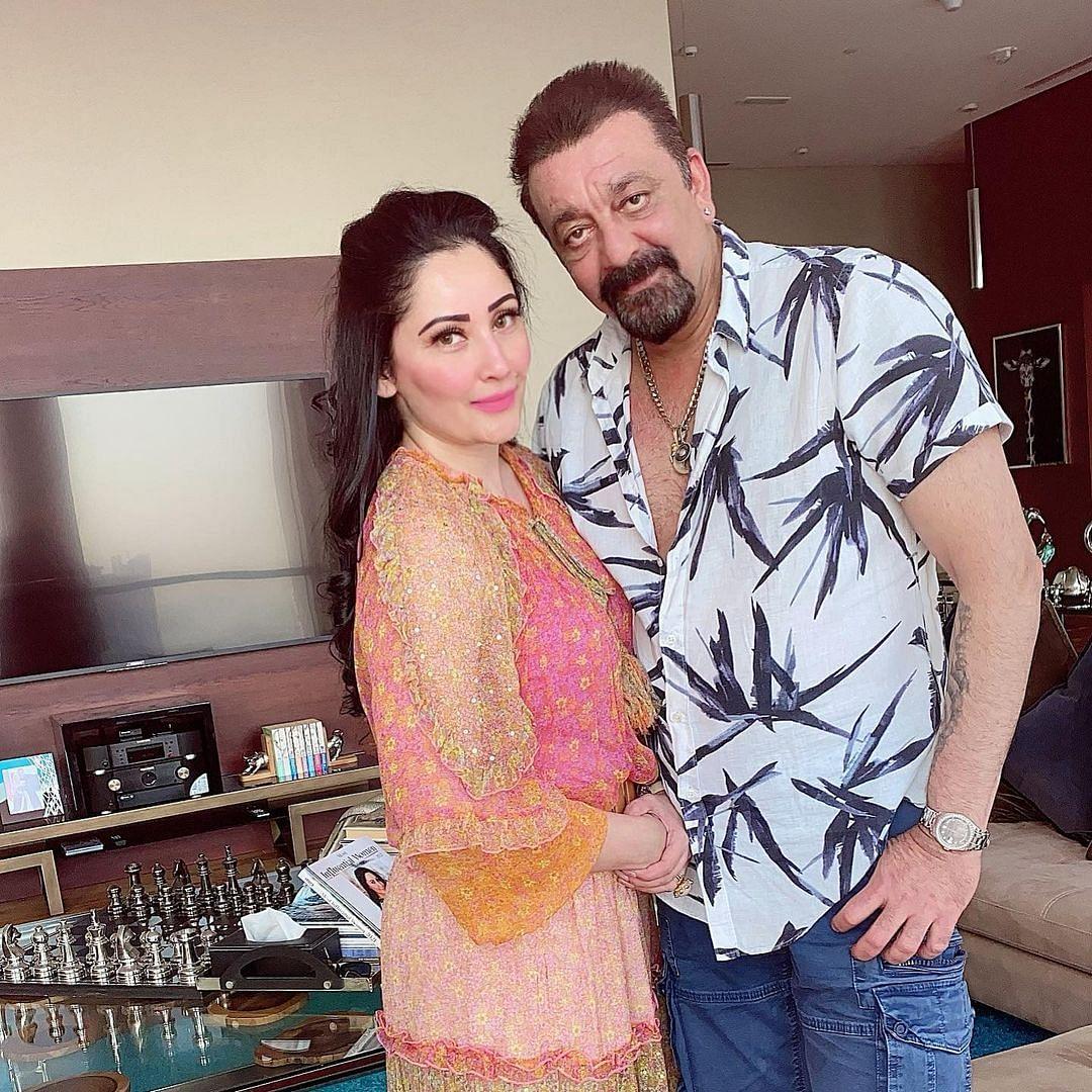 'Wishing you love, peace, health': Maanayata Dutt wishes husband Sanjay Dutt on his birthday