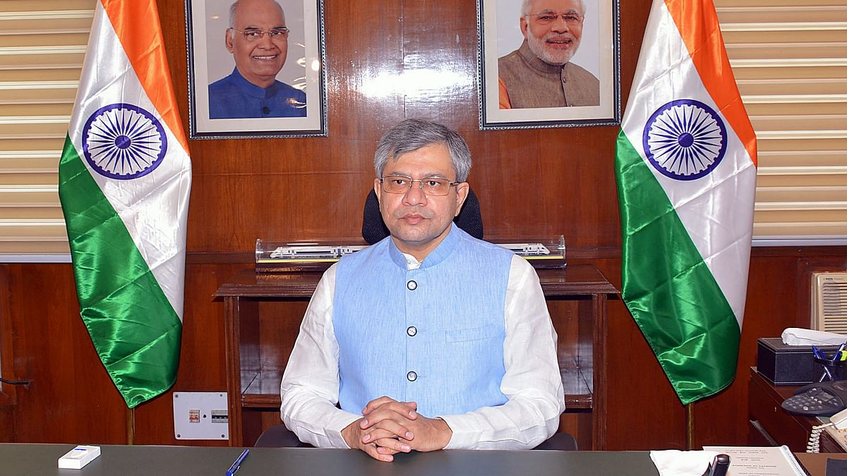 After taking charge as rail minister, Ashwini Vaishnaw directs officials in his office to work in 2 shifts