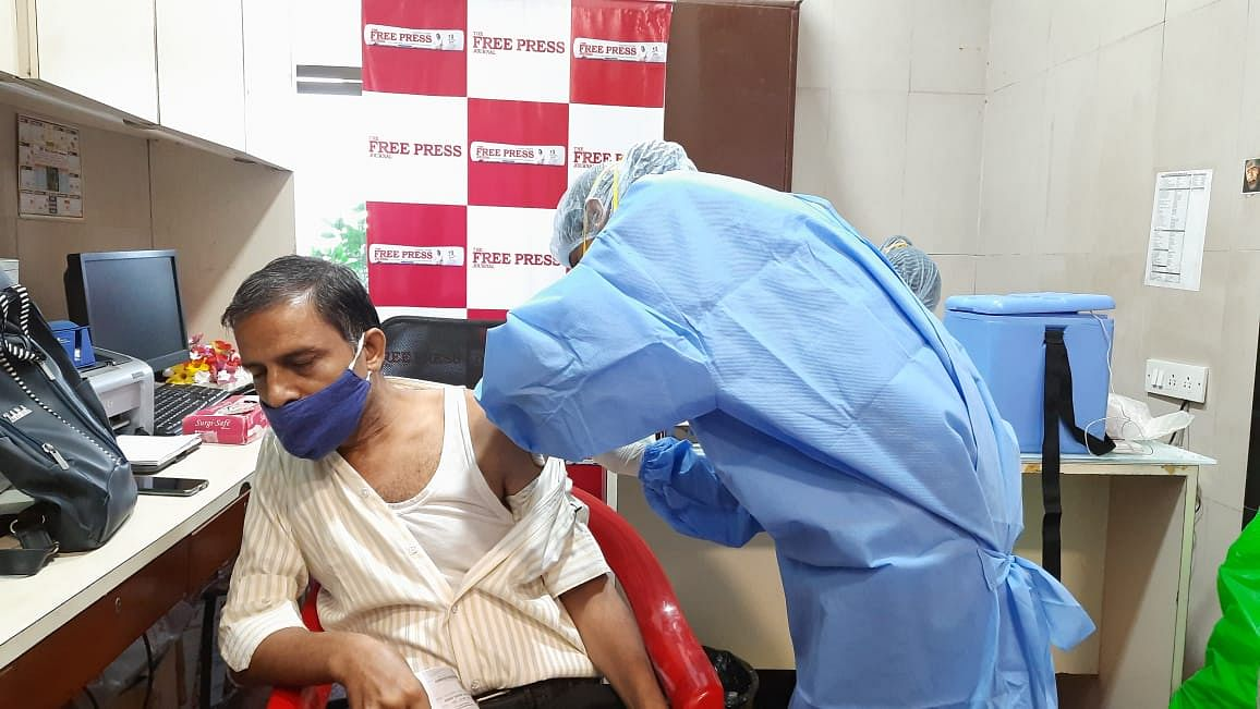 COVID-19 in Mumbai: Vaccination drive was organised at Free Press House for employees by Free Press Journal