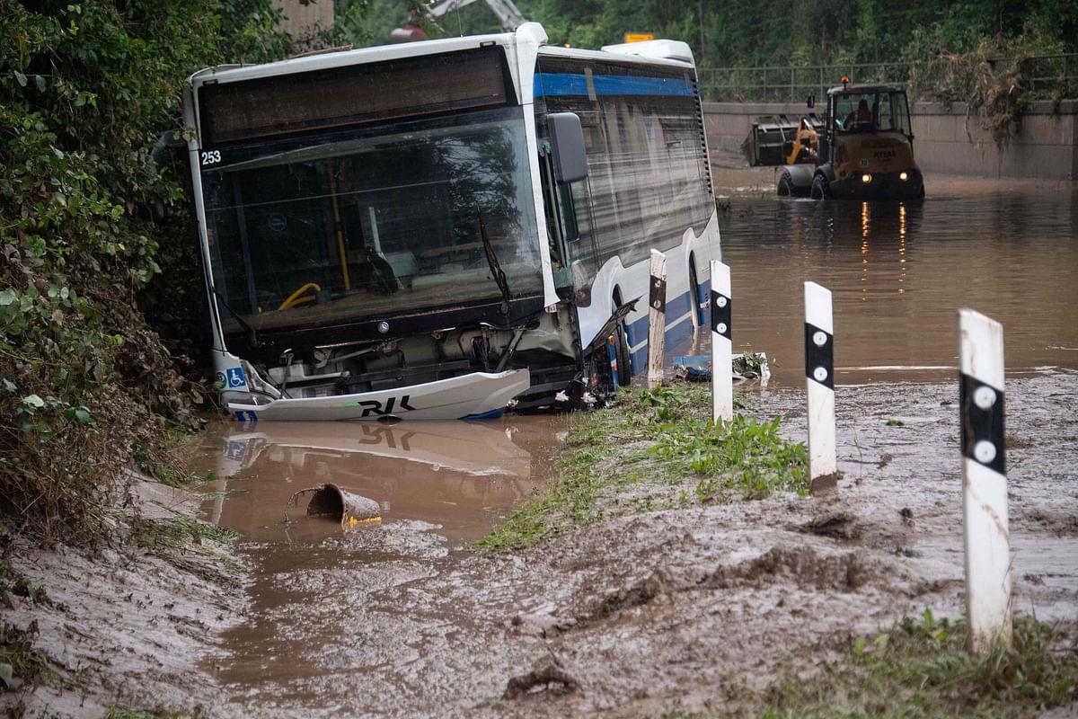 Death toll crosses 120 as floods wreak havoc in Germany and Belgium