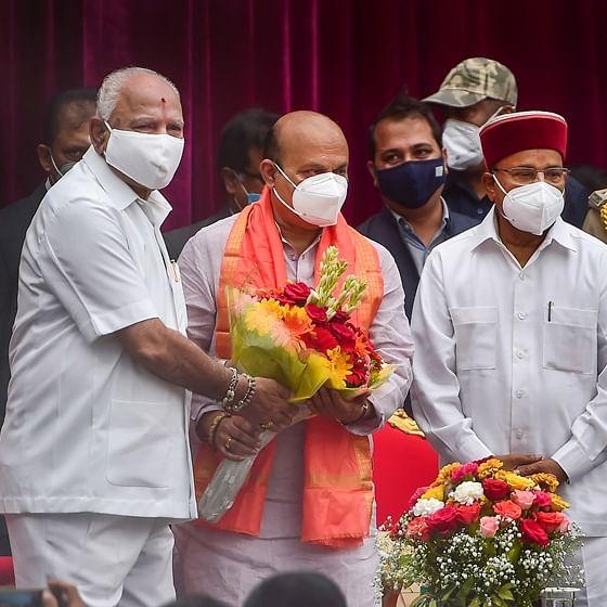 PM Modi, Amit Shah congratulate new Karnataka CM Basavaraj Bommai; laud Yediyurappa's contribution