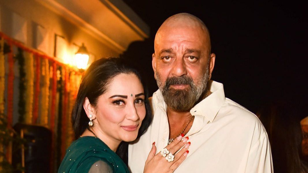 Sanjay Dutt pens an adorable birthday wish for wife Maanayata, calls her the 'backbone of their family'