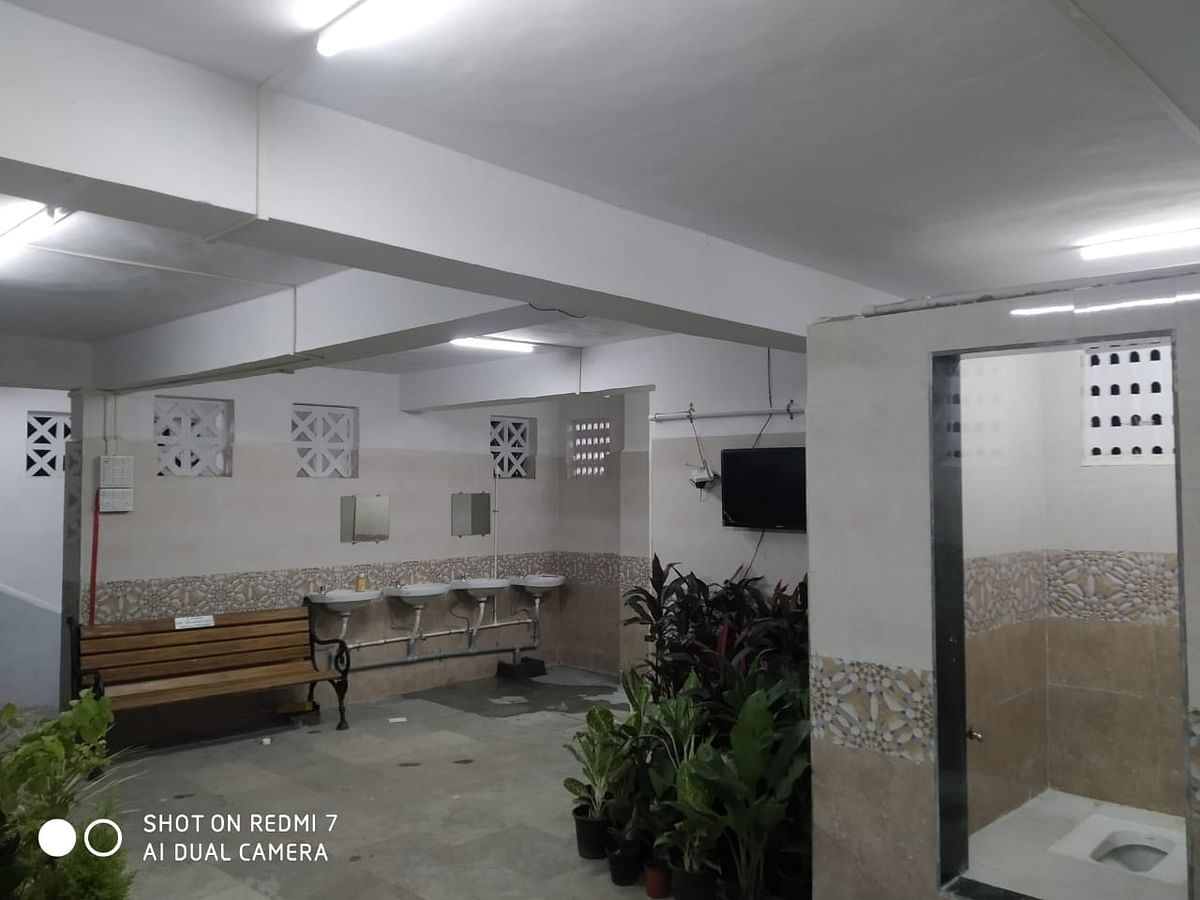 TV, free wi-fi and more: BMC sets up Mumbai's largest community toilet in Andheri; see pics