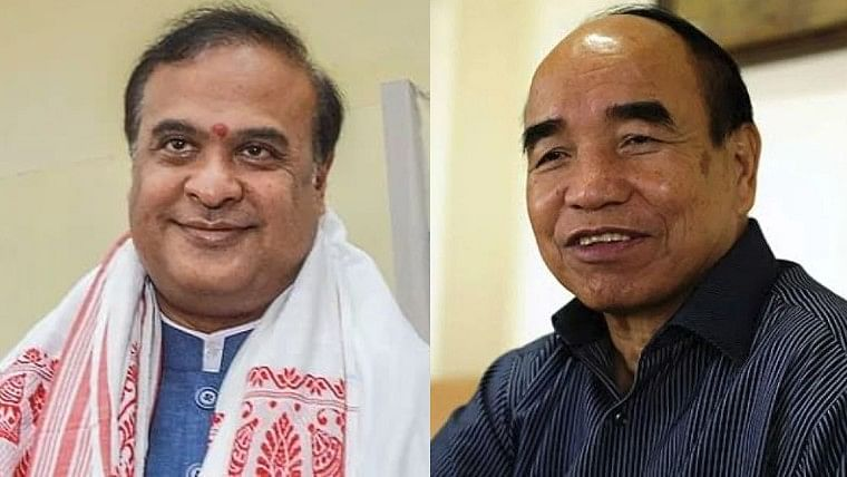 Mizoram-Assam border tension: Six Assam Police jawans killed hours after CMs Zoramthanga, Himanta Biswa Sarma clash on Twitter