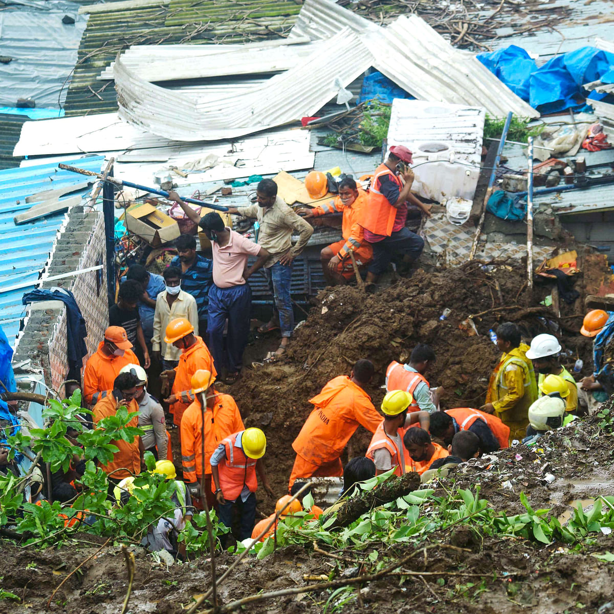 Mumbai wall collapse: Family of five wiped out; another family survives but loses all it had