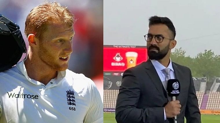'OMG, didn't see that coming': Dinesh Karthik reacts after Ben Stokes pulls out of India Test series to focus on mental health