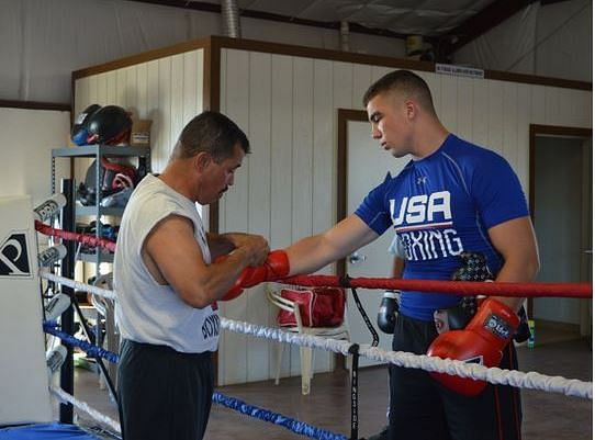 Torrez carrying on the family legacy: Coming from an American boxing family of three generations, he is punching some of the sport's largest men out of the ring