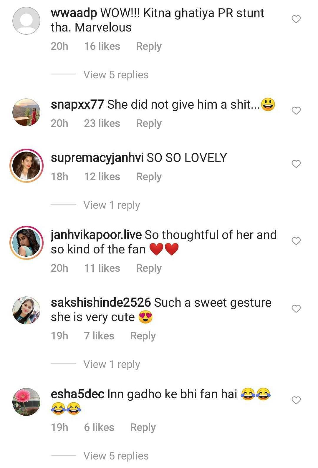 'Such a cold response': Janhvi Kapoor slammed for leaving a Rajasthani fan's gift on the floor - watch video