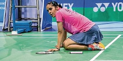 Saina hails Yogi; RLD chief calls her 'sarkari shuttler'