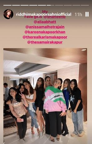 Inside pics: Neetu Kapoor celebrates 63rd birthday with Ranbir, Alia, Riddhima, Kareena and others