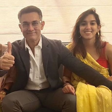 Here's what Ira shared on Instagram a day after dad Aamir Khan and Kiran Rao's divorce announcement